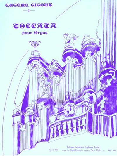 Gigout: Toccata for organ