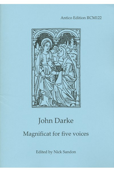 Darke, John: Magnificat for five voices (Nick Sandon) RCM122