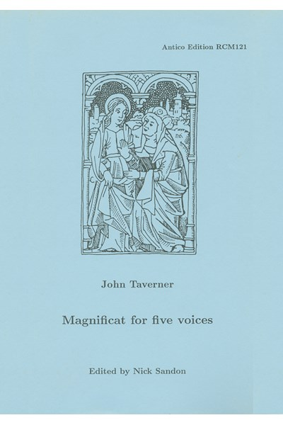 Taverner, John: Magnificat for five voices (Nick Sandon) RCM121