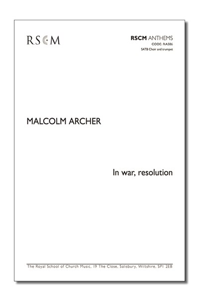 Archer: In war, resolution