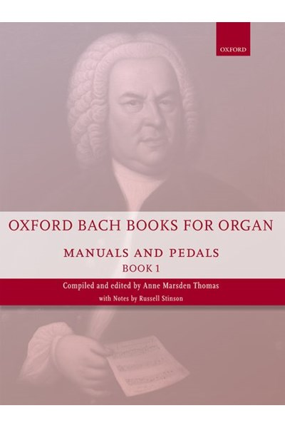 Oxford Bach books for organ Vol. 1 (manuals and pedals)
