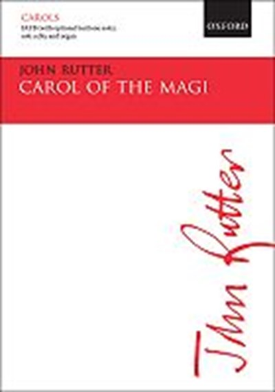 Rutter: Carol of the Magi - vocal score
