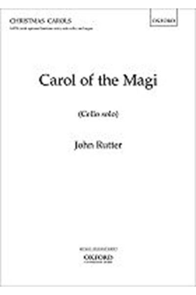 Rutter: Carol of the Magi - cello part