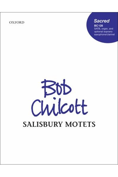 Chilcott: Salisbury Motets vocal score