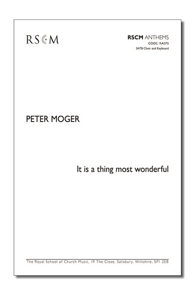 Moger: It is a thing most wonderful