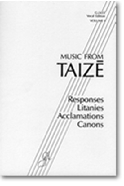 Music From Taizé, volume I - spiral bound