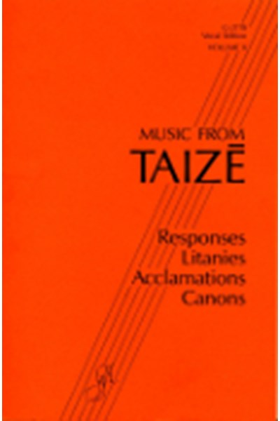 Music From Taizé, volume II - spiral bound