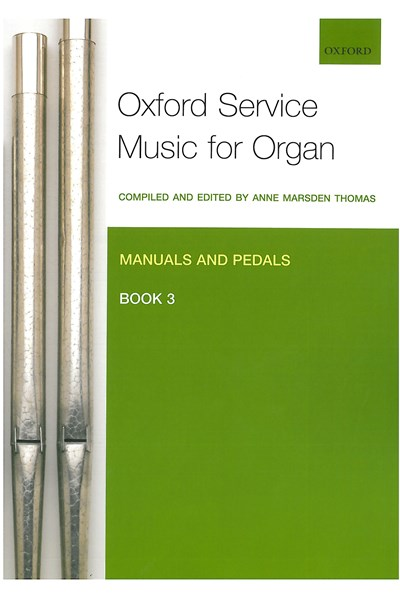 Oxford Service Music for Organ Man/Ped Bk 3