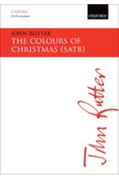 Rutter: The Colours of Christmas (SATB)