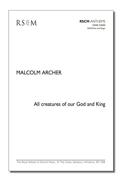 Archer: All creatures of our God and King