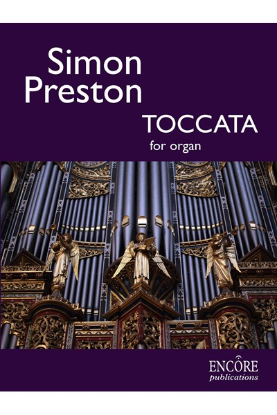 Preston: Toccata for Organ