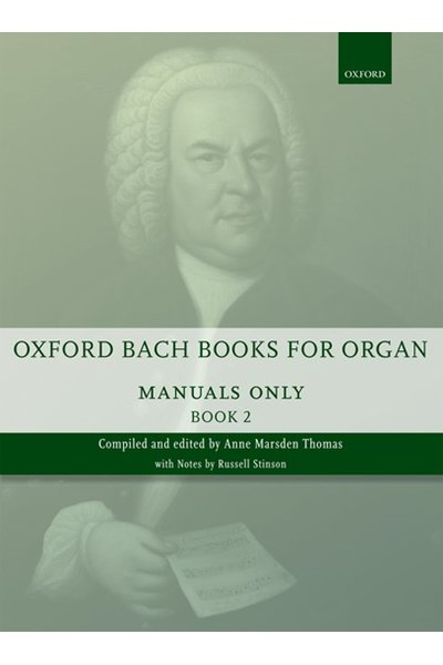 Oxford Bach books for organ Vol. 2 (manuals only)