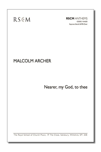 Archer: Nearer my God to thee