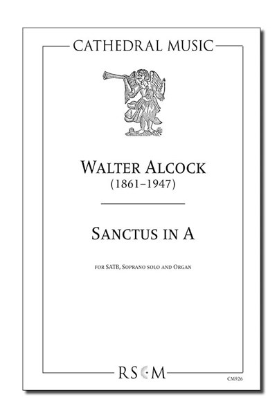 Alcock: Sanctus in A