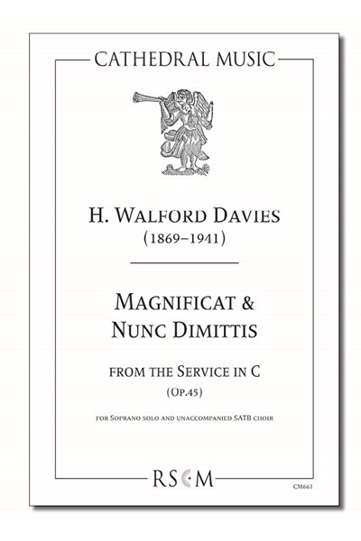 Walford Davies: Magnificat & Nunc Dimittis (from the Service in C)