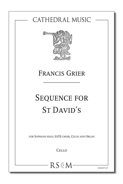 Grier: Sequence for St David's (Cello part)