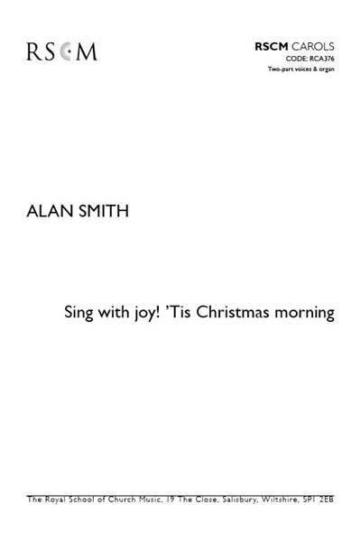 Smith: Sing with joy! 'Tis Christmas morning