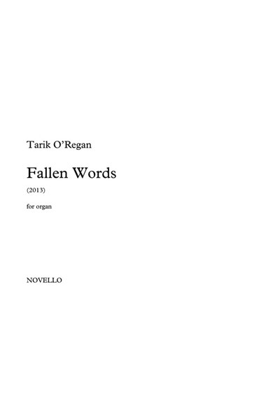 O'Regan: Fallen words