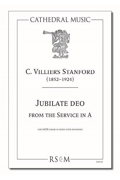 Stanford: Jubilate deo in A