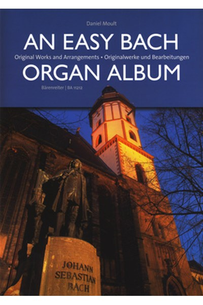 Bach: An easy Bach organ album