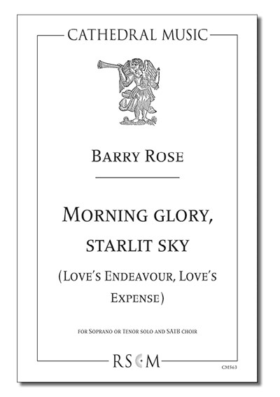 Rose: Morning glory, starlit sky