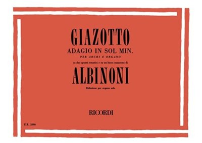 Albinoni: Adagio in G minor