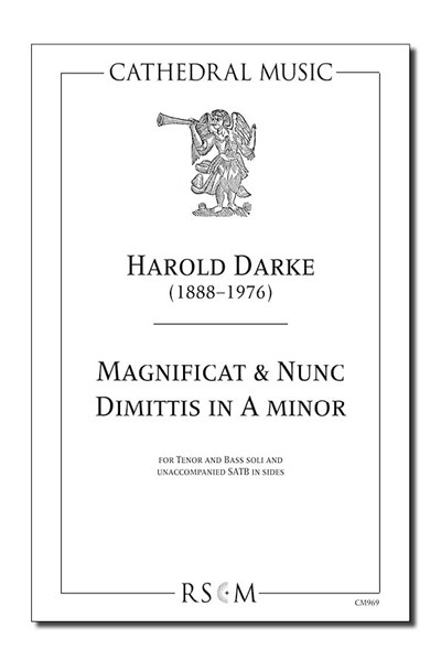 Darke: Magnificat & Nunc Dimittis in A minor