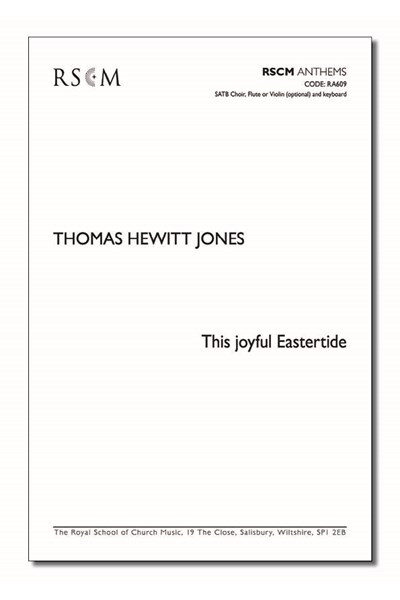Hewitt Jones: This joyful Eastertide