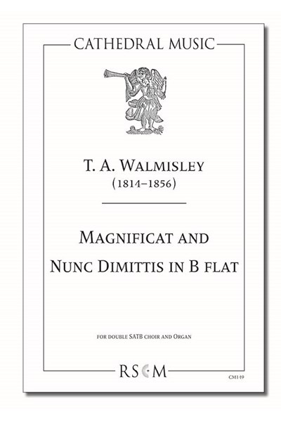 Walmisley: Magnificat and Nunc Dimittis in B flat
