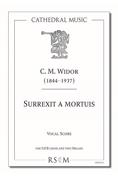 Widor: Surrexit a mortuis (vocal score)