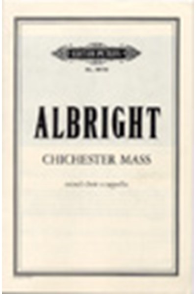 Albright: Chichester Mass (1974)