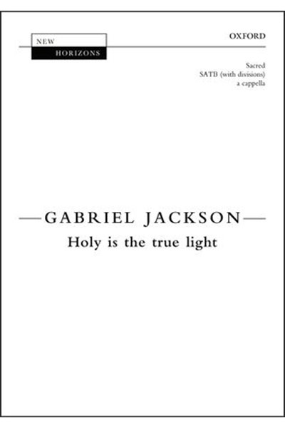 Jackson: Holy is the true light