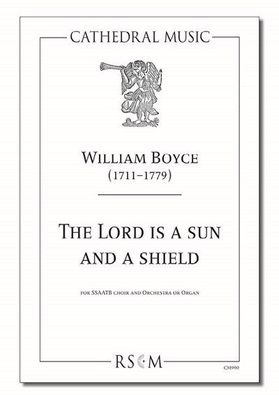 Boyce: The Lord is a sun and a shield