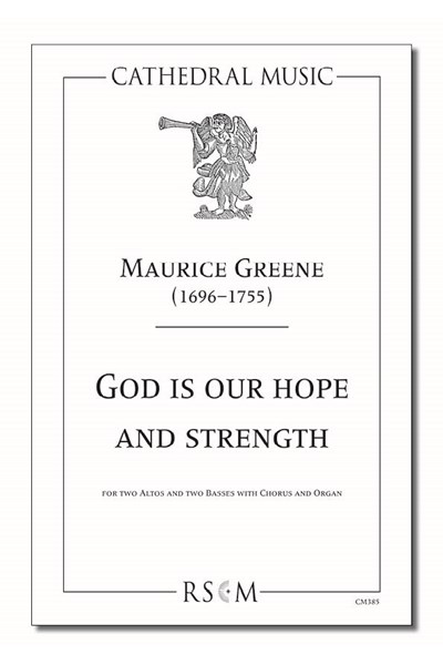 Greene: God is our hope and strength