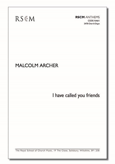 Archer: I have called you friends