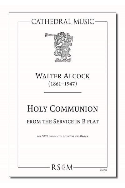 Alcock: Holy Communion in B flat
