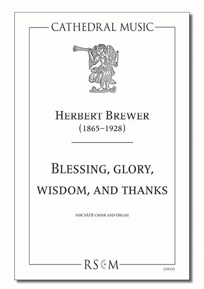 Brewer: Blessing, glory, wisdom, and thanks