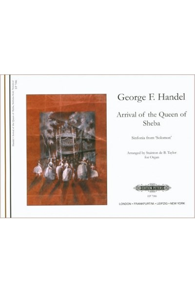 Handel: Arrival of the Queen of Sheba - organ solo
