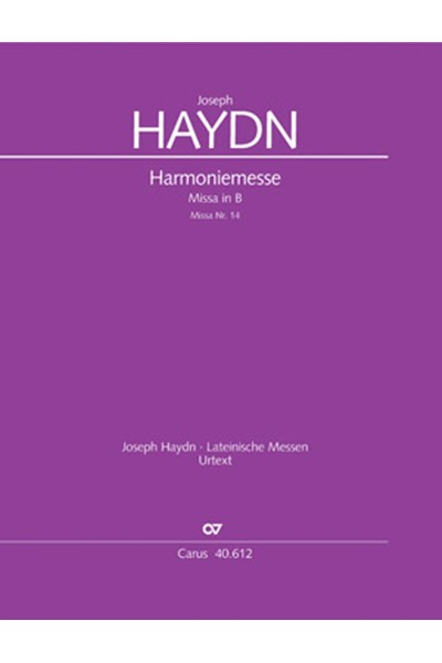 Haydn: Harmonie Messe Hob.22:14 in B flat major