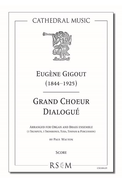 Gigout: Grand Choeur Dialogué (arr. Walton), Organ and 6/7 part brass ensemble (Score)