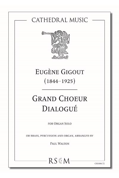 Gigout: Grand Choeur Dialogué (arr. Walton), Organ and brass ensemble (Organ part)