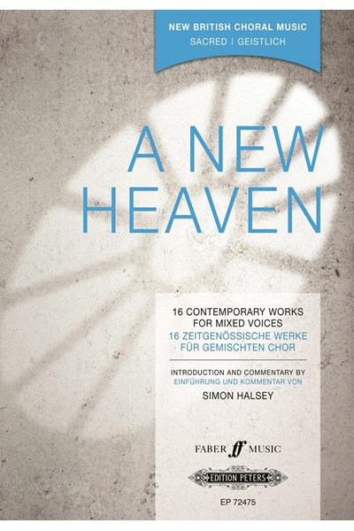 A New Heaven: 16 Contemporary Works for mixed voices