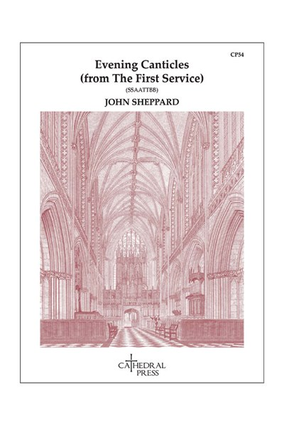 Sheppard: Magnificat & Nunc Dimittis from the First Service (SSAATTBB)