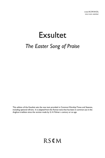 Exsultet - The Easter song of praise