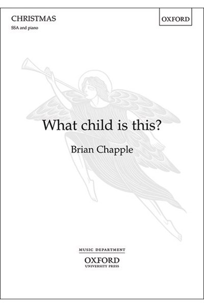 Chapple: What child is this? (SSA)