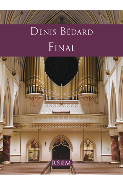 Bedard: Final pour orgue (CH66)