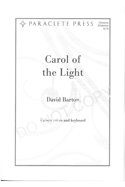 Barton: Carol of the Light