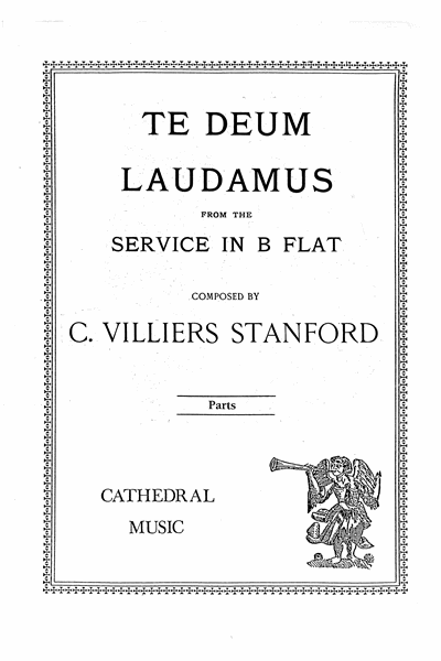 Stanford: Te Deum in B flat Op.10 Brass Parts set