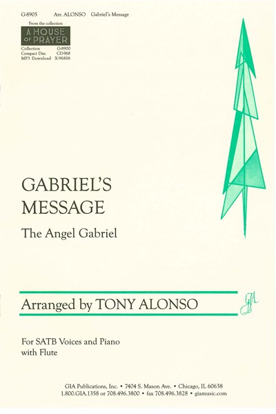 Alonso arr.: Gabriel's Message (The Angel Gabriel)