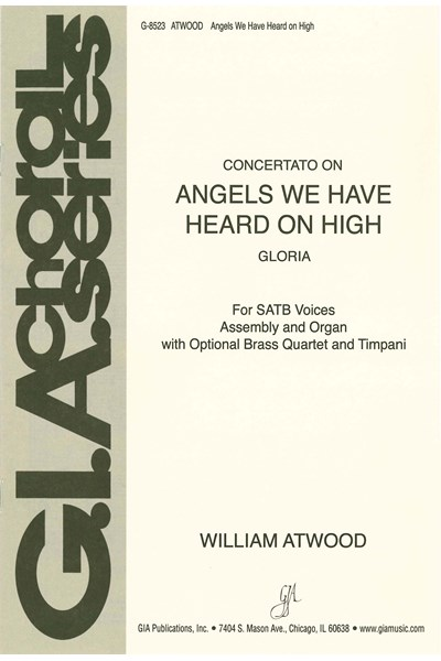 Atwood: Angels we have heard on high